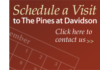 Schedule a Visit at The Pines at Davidson in Davidson, NC